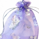 Organza Bags Wholesale & Grip Seal Bags Wholesale > Organza gift bags - Chinese Luck Character wholesale