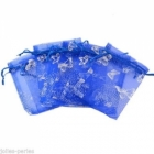 Organza Bags Wholesale & Grip Seal Bags Wholesale > Organza Bags with butterflies Wholesale