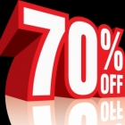 WAREHOUSE CLEARANCE > 70% discount