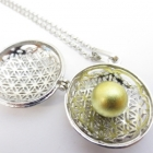 Metal Jewelry wholesale > Angel Callers Flower of Life - wholesale