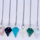 Pendulum Wholesale > Gemstone Cone Pendulum Wholesale