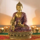 Buddha Statues Wholesale/Import & Export > Buddha Gold/Black Wholesaler