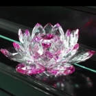 Crystal Statues Wholesale - Import & Export > Crystal Lotus & Grapes Wholesale