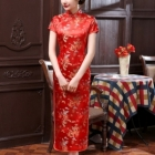Clothing Wholesale - Import & Export > Wholesale Chinese Troditional Dress - Qipao ( short sleeve)