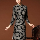 Clothing Wholesale - Import & Export > Wholesale Beauty Traditioanl Chinese Dress - Qipao ( long sleeve )