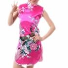 wholesale+chinese+kids+dress+qipao+silk+satin+
