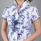 chinese+blouse+v+neck+wholesale+