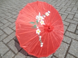 Chinese Umbrella large - red