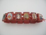 bracelet blessed 12 pieces (Red)