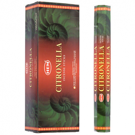 Citronella HEM Incense Sticks Wholesale - Import Export