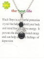Wholesale - Angel necklace Onyx
