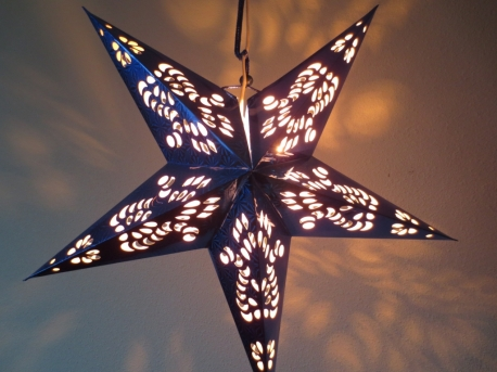 Star Lantern dark blue