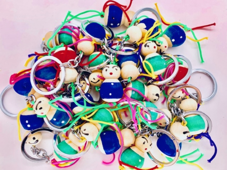 Wholesale lucky doll keyholder