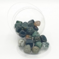 Wholesale - Gemstone Cluster Moss Agate 2-3cm