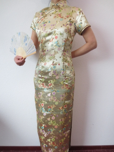 Chinese flower gold size 34