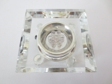 Crystal laser dispaly lamp square with adaptor
