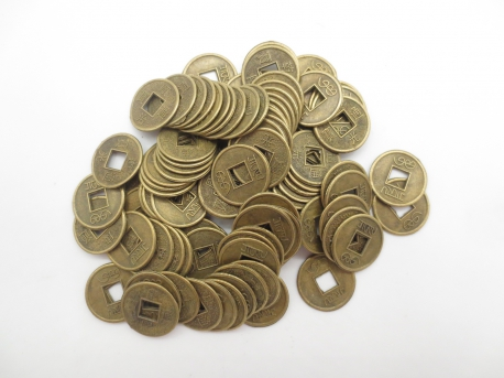 Chinese lucky coins small (100 pieces)