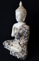Wholesale - Meditation Buddha white medium