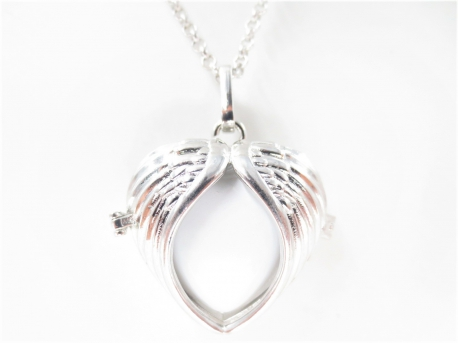 Angel Caller heart white