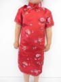 Girls Dress blossom red