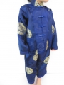 Girls suit dark blue