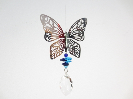 Cosmo Crystal Pendant Wholesale - Butterfly