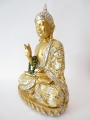 Thai Buddha with necklace gold