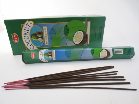 HEM Incense Sticks Wholesale - Coconut