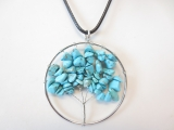 Tree of Life Necklace turquoise