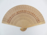 Hand fan Wholesale - Chinese Wooden Hand Fan With Flower