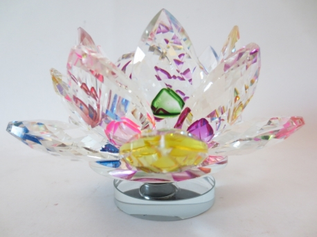 Mixed Crystal lotus on standard small