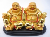 wholesale - Budha Gold sitting on plate friendship big