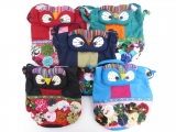 Owl hand/shoulderbag (12 pieces)