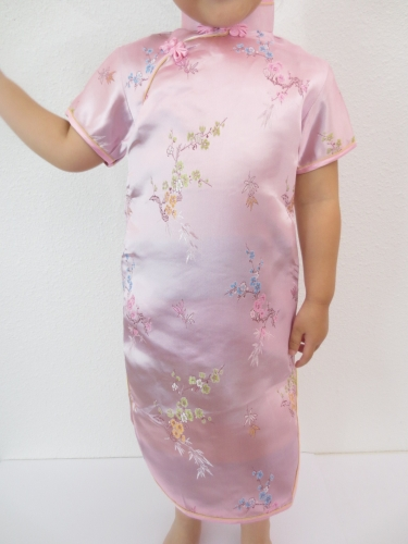 Girls Dress blossom pink