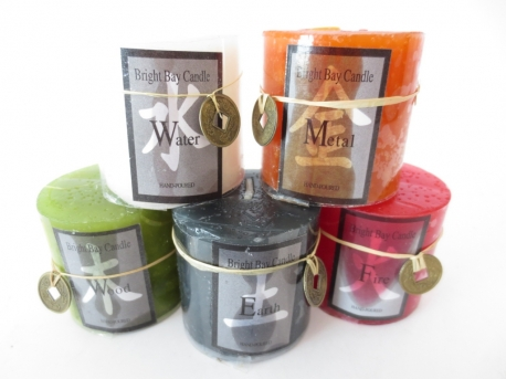 Feng Shui Candle Set (large)