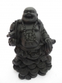 Wholesale - Buddha Black standing on coins with Yuni and bag
