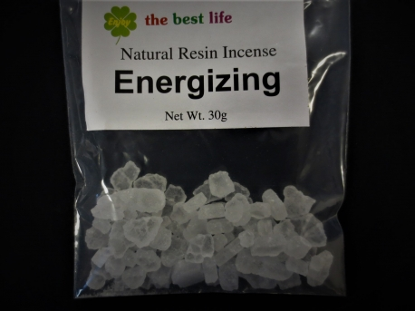 Resin Incense - Energizing Camphor 30g AA Quality