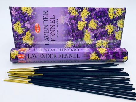 HEM Incense Sticks Wholesale - Lavender Fennel