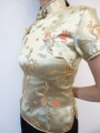 Shanghai blouse dragon/phoenix gold