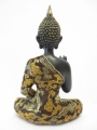 Thai Buddha with pot gold/black