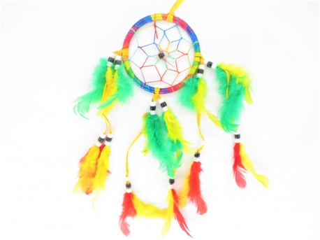 8cm round Dreamcatcher mixed (12pcs)