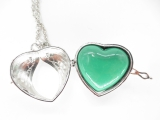 Angel Caller heart green
