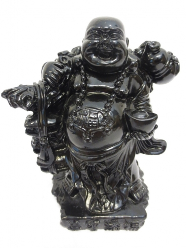 Wholesale - Travel Buddha black with gold