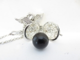 Angel Caller with black chime ball II