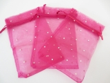 Brilliant Organza bag Fuchsia