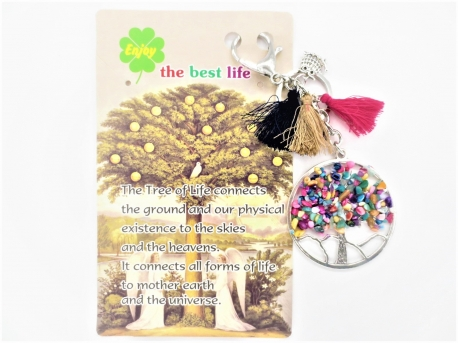 Tree of Life keychain mixed