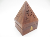 XL Pyramid cone burner Buddha (6 pcs)