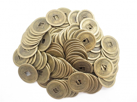 Chinese lucky coins medium (100 pieces)