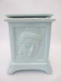 Light blue Buddha oilburner luxury