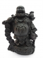 Wholesale - Buddha Black standing with lucky coins